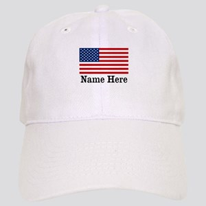 Personalized American Flag Cap