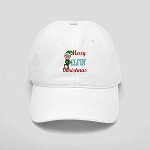 c319359c6 Funny Elfin Christmas Baseball Cap