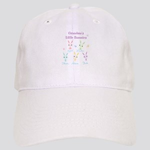 Grandmas little bunnies custom Baseball Cap
