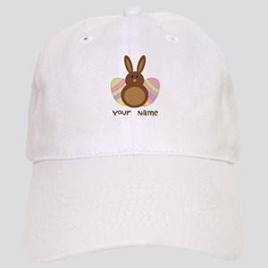 Personalized Easter Chocolate Bunny Cap