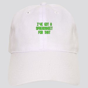 7a408c438cd08 Spreadsheet Baseball Cap
