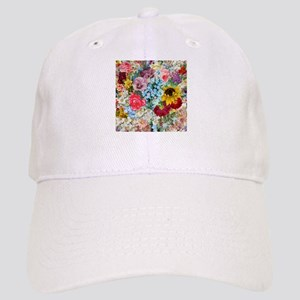 Colorful Flower pattern Cap