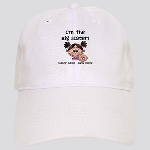 Big Sister 1 (brunette) - Customize! Baseball Cap