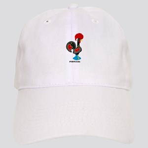 Portuguese Rooster of Luck Baseball Cap