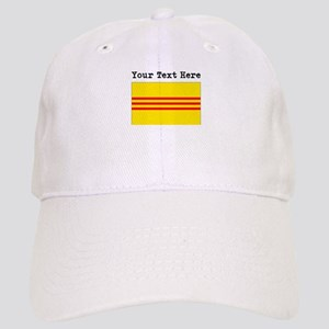 1b4c650a44cfc7 Custom Old South Vietnam Flag Baseball Cap