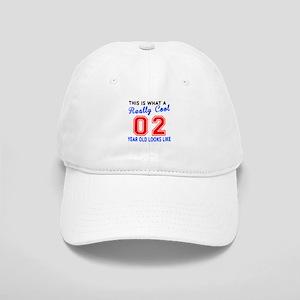 Really Cool 02 Birthday Designs Cap