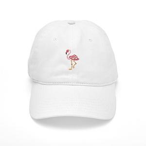 4ab1b7d4e58 Pink Flamingo Art Cap