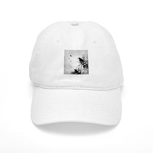 b671487b4 Design 43 crow silhouette Cap