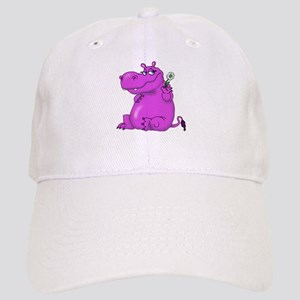 Purple Hippo Cap
