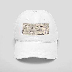 00327993e11f3 Fishing Lures Vintage Antique Newsprint Cap