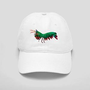 a9c48963f8f01 Geometric Abstract Peacock Mantis Shrimp Cap