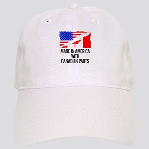 f0576bd7504dc Made In America With Canadian Parts Baseball Cap