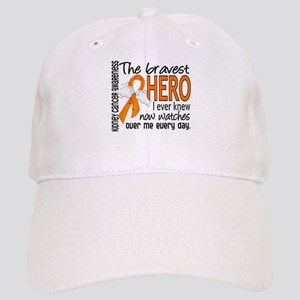 Bravest Hero I Knew Kidney Cancer Cap
