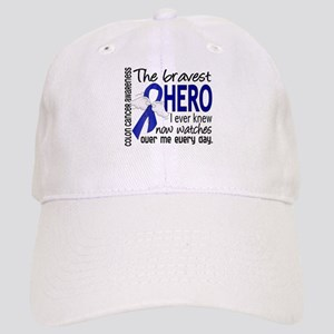 Bravest Hero I Knew Colon Cancer Cap