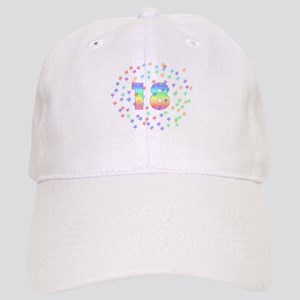 18th Birthday Pastel Stars Cap