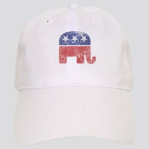 09cc4ddf Worn Republican Elephant Cap