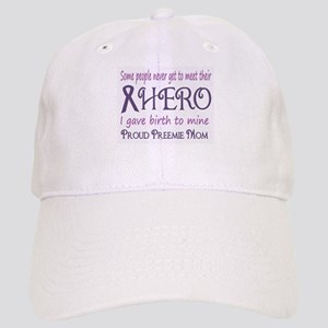 Proud Preemie Mom Baseball Cap
