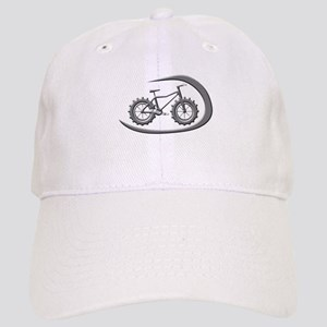527ed1bed3464 Awesome chrome swoop logo Baseball Cap