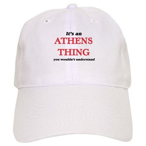 best service 5112c 809e2 I Heart Athens Hats - CafePress