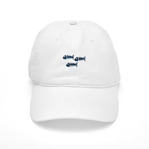 5a8db1db Fish Skeleton Hats - CafePress