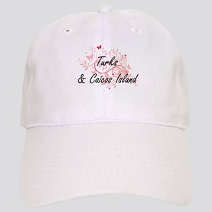 Turks & Caicos Island Artistic Design with But Cap
