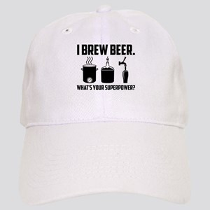 f91c1aaa I Brew Beer. What's Your Superpower? Baseball Cap