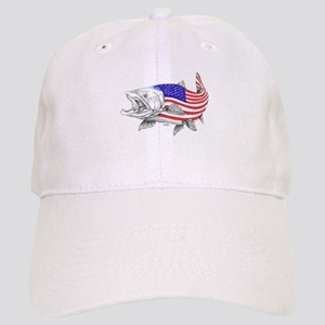 Steel Head American Salmon Cap