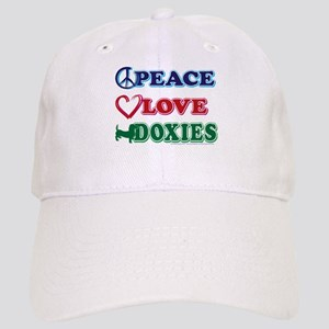 Peace Love Doxies - Dachshunds Cap