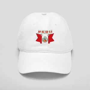 4110e0cf2ec The flag of Peru ribbon Cap