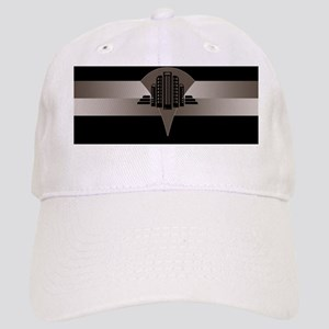 Black and Bronze Art Deco Tower ld Cap