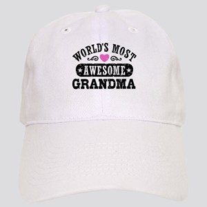 World's Most Awesome Grandma Cap