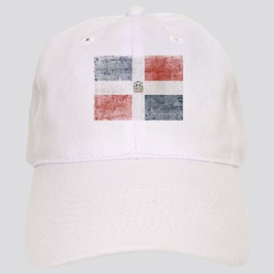 Dominican Republic Distressed Flag Cap