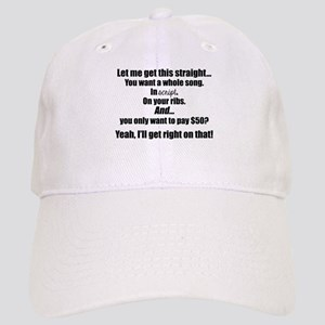 b1cc8ca50c3ce Let me get this straight (black font) Baseball Cap