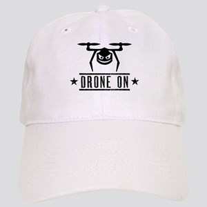Drone On Baseball Cap