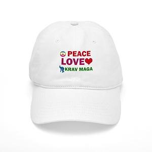 9ebd38172 Peace Love Krav maga Designs Cap