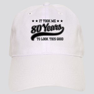 66d851496172d Funny 80th Birthday Cap