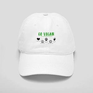 f3ac0b1a19168 Go Vegan Hats - CafePress