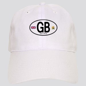 Great Britian (GB) Euro Oval Cap