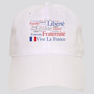 France - Liberty, Equality, F Cap