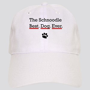The Schnoodle Best Dog Ever Baseball Cap