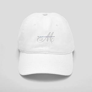 ce101cd330a88 Elegant Name and Monogram Baseball Cap
