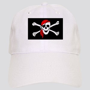 10c173a61a3324 Pirate Flag Hats - CafePress