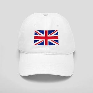 812e50ea0cd98 Union Jack American Flag Hats - CafePress