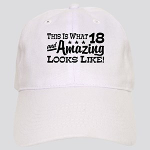 Funny 18th Birthday Cap