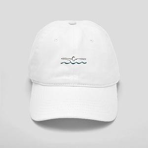 54f43596 Butterfly Swim Hats - CafePress