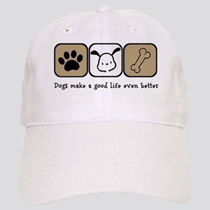 e6c7490e4 Dogs Make a Good Life Even Better Cap