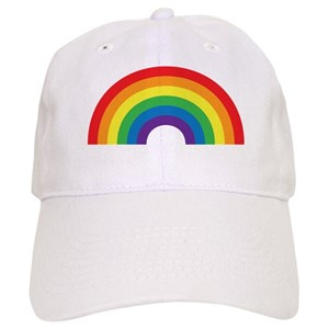 35ea3c5cf Gay Rainbow Baseball Cap
