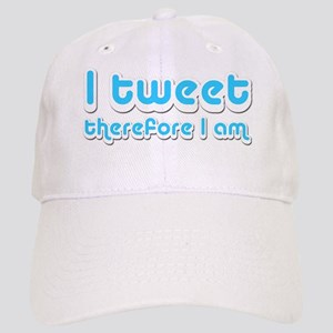 I Tweet Therefore I Am - Cap
