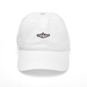 uss drum white letters Cap