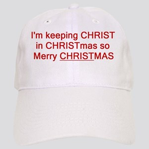christ in christmas Cap